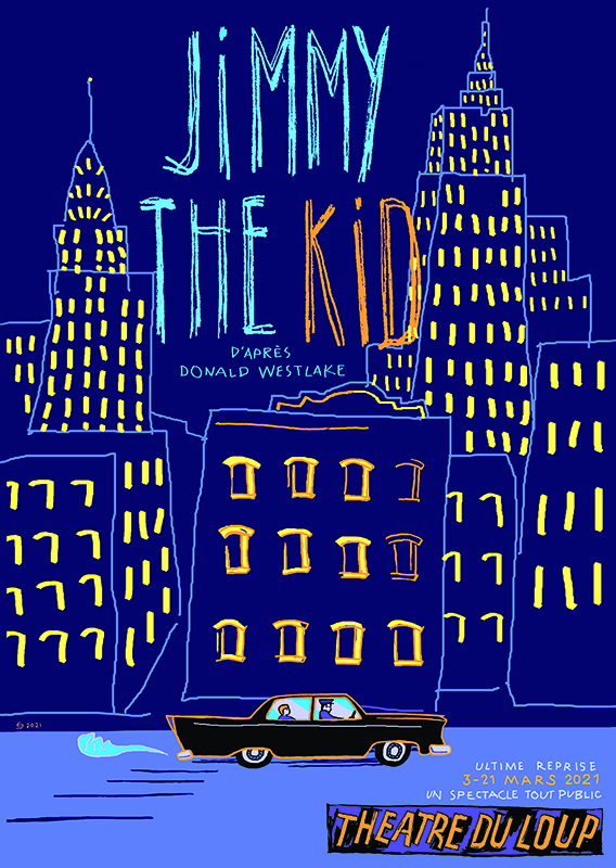 Affiche Jimmy the Kid - reprise 2021